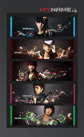MYNAME SIGNATURE SET by zareos