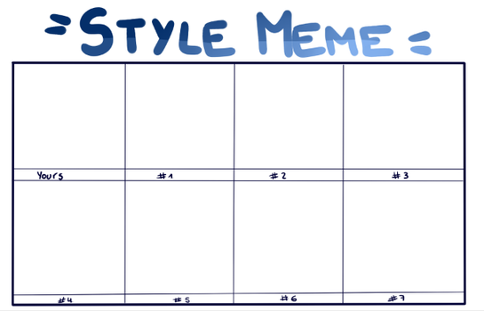 Style Meme by winquts