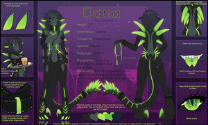 Dana ref sheet by Helixel