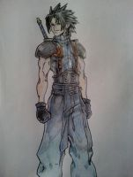 FF7: Crisis Core - Zack Fair by kngdmhrts2