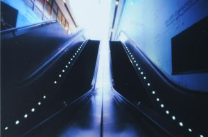014 escalators by fuzzyzebra