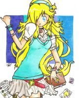 School Girl Rosalina by Foxtail-89