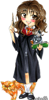 Harry Potter: Hermione by Larinelle