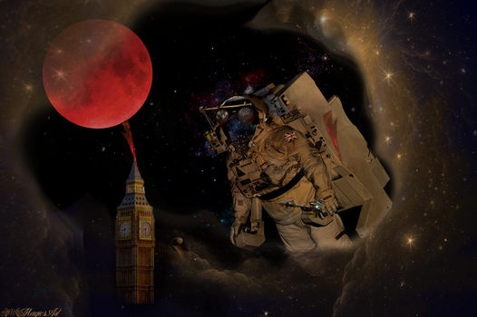See You On Mars Major Tom by magicsart