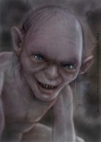 Gollum by vegetanivel2
