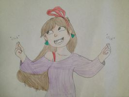 Party girl Mabel by Bobthedog35