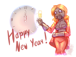 TF2 - Happy New Year by Tanita-sama