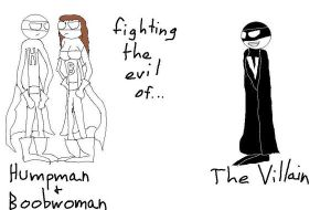 Humpman And Boobwoman by demonbarber