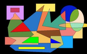 Shapes of Colours 6 by GreenSkullplz