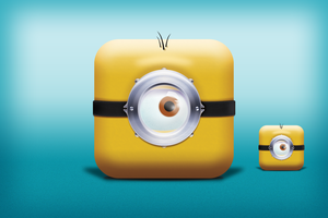 Minion icon by 4Roy