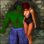 Hulk Smash Ass by masterpogo