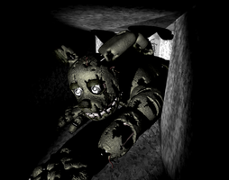 SpringTrap crawling for that booty by kinginbros2011