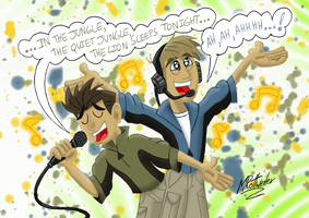 The Kratts Sleep Tonight by MRottweilerDogBarks