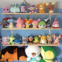 My Tiny Pokedoll Collection by MizukiiMoon