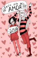 Just friends!! by Tana-Re