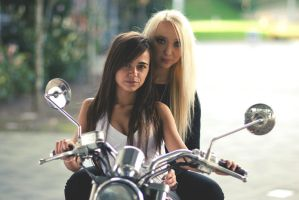 Motor Girls by AnitaSadowska