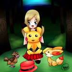 [Request] Pokemon - Serena and others by ForeverEmerald