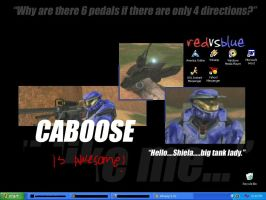 Caboose wallpaper by DemonBunny