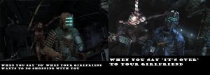 dead space by HokutoBoy