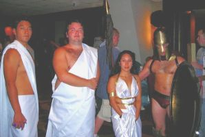 THIS IS SPARTA or dragon con by Amaya3004