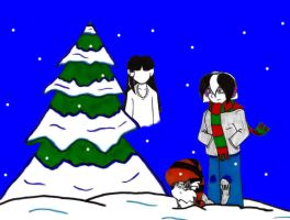 Christmas 2011- panel 2 by Catboy-Trades