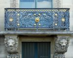 Detailed Louvre balconies by EUtouring