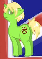 dat british pony arse by underwaterteaparty