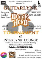 Guitr Hero Event Flyer by Pi-Productions
