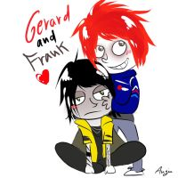 Gerard and Frank _MCR_ by AiniBluebell