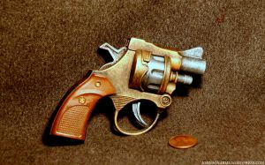 Mini Cap Gun by JohnsonArms