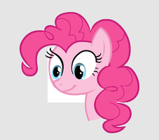 Pinkie Pie Looks at your soul Main Vector by Member1221