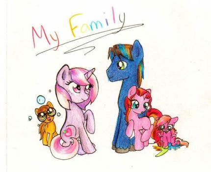 My Little Family by domickee