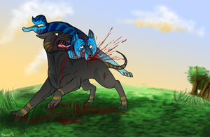Ginga Trade: Aotora VS Kotoro by BonePagan
