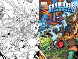 SKYlanders !# Cover by Fico-Ossio