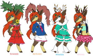Ceres Through The Seasons by Setsuna-Yena
