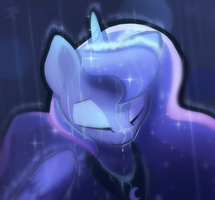 Rainy night by DarkFlame75
