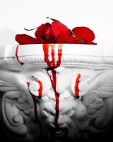 wounded_rose by RobertMichael