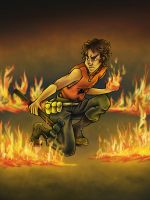Flame On, Leo Valdez by yurixmeister