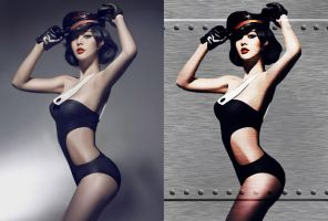 Editing Practice - Fan Bing Bing By Arvinnova by M-Lewis