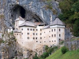 Predjama Castle by nordfold