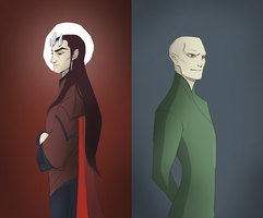 Melkor Voldemort by LadyDeadPooly