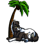 Palm Tree- by BeachBumDunkin