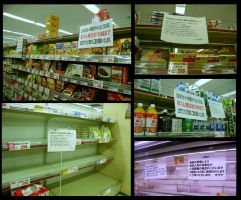 Food Limits and Empty Shelves by JeanneABeck