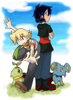 .: Sinnoh Adventure :. by HikaruJen