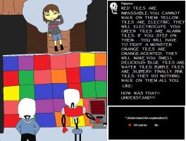 But I Suck at Puzzles! (Undertale Fanart #2) by 1Rabbitty1