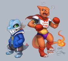 Sans and Papyrus? by Haychel