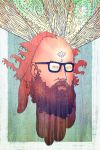 Allen Ginsberg by esteban-art