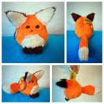 Fox Keychain by nfasel