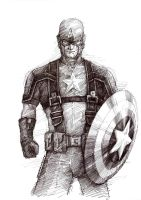 Captain America by ojerry