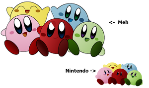 "Old ""Kirbys"" Drawing by KirbyDude64"